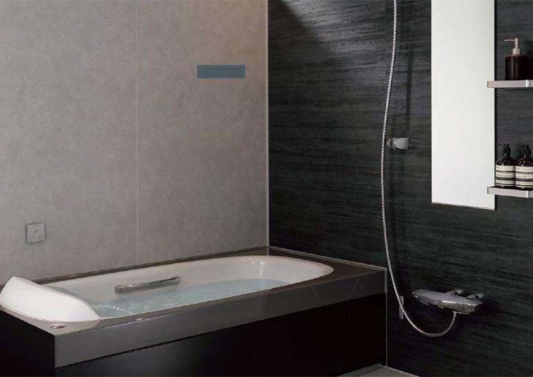 人台浴槽や保温性能などワンランク上の質感と性能を備えた高級仕様